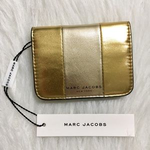 Marc Jacobs Bifold Saffiano Leather Card Holder
